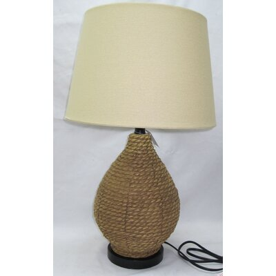 Jute Jug 26.5 Table Lamp