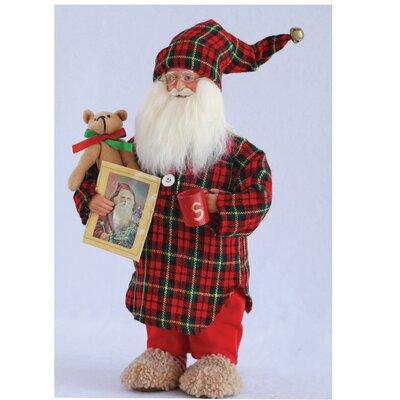 Night Shirt Santa Figurine