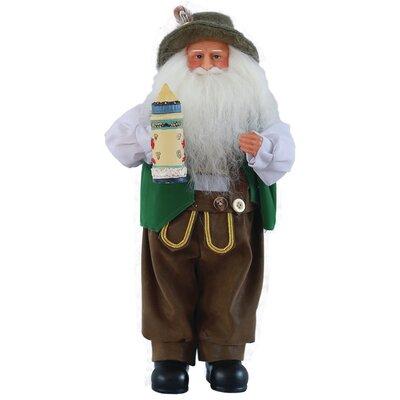 German Santa Figurine