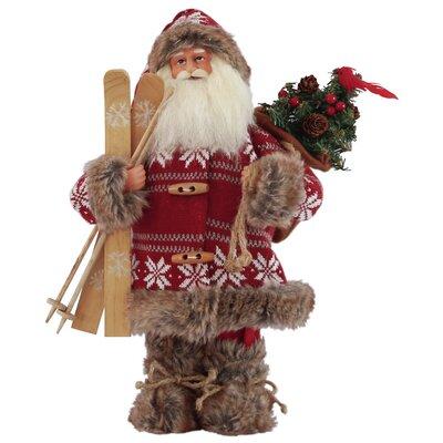 Snowbound Santa Figurine