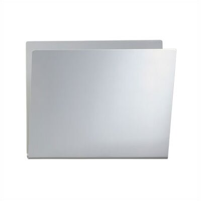 One Wall Mounted Newspaper and Document Pocket Steel Shell Finish: Aluminum Metallic
