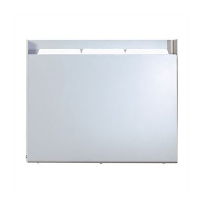 Steel One Pocket Medical & File Chart Holder Steel Shell Finish: Aluminum Metallic, Holder Style: HIPAA Applications
