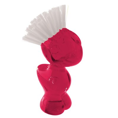 Tweetie Vegetable Brush Color: Red