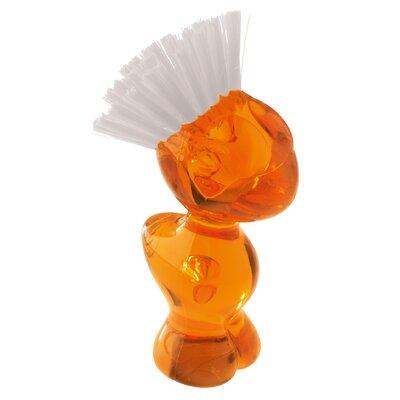 Tweetie Vegetable Brush Color: Transparent Orange