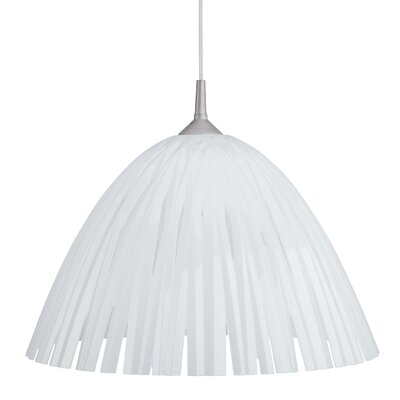 Reed Ceiling/Hanging Lamp Color: Milk White