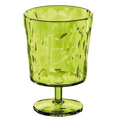 Poseidon Crystal Glass Color: Green