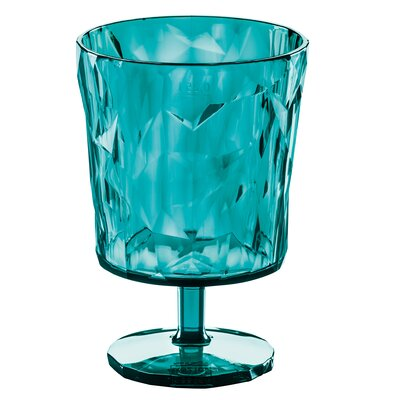 Poseidon Crystal Glass Color: Blue