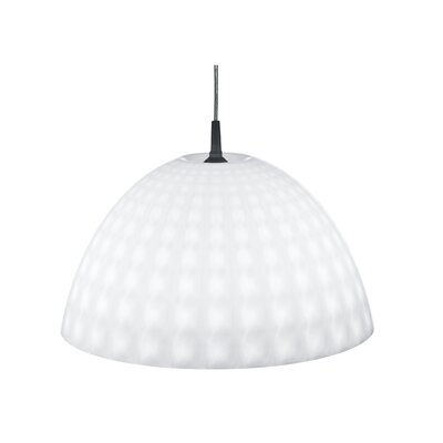 Stella 1-Light Bowl Pendant Color: Milk White, Size: XL