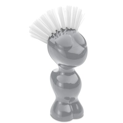 Tweetie Vegetable Brush Color: Cool Grey