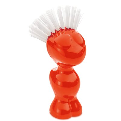 Tweetie Vegetable Brush Color: Tangerine