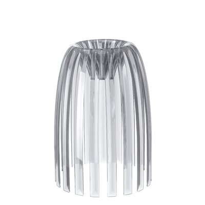 Solid 7.76 Plastic Novelty Lamp Shade Color: Clear