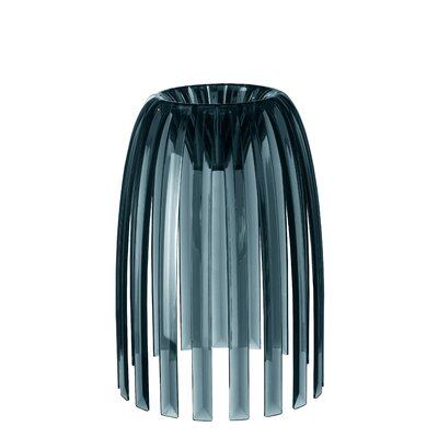 Solid 7.76 Plastic Novelty Lamp Shade Color: Anthracite