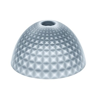 Silk Solid 17.1 Plastic Bowl Lamp Shade Color: Anthracite