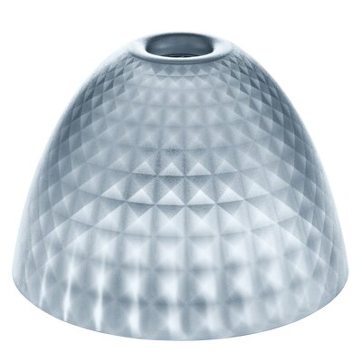 Silk Transparent 10.4 Plastic Bowl Lamp Shade Color: Anthracite