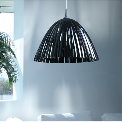 Reed Solid 17.3 Plastic Bowl Lamp Shade Color: Anthracite