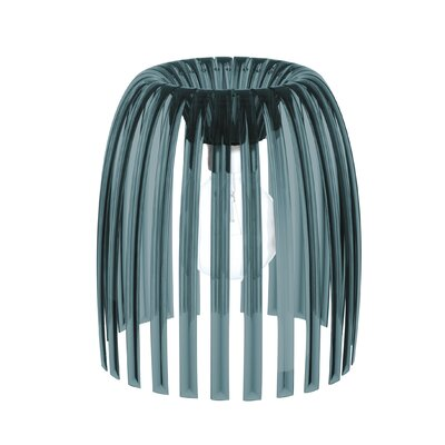 Solid 12.32 Plastic Novelty Lamp Shade Color: Anthracite