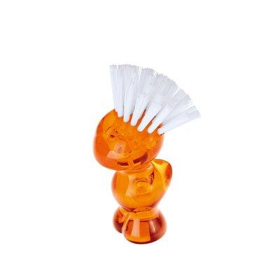 Mini Tweetie Multi Purpose Brush Color: Transparent Orange