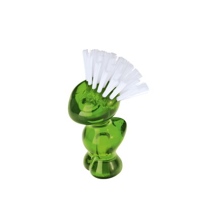 Mini Tweetie Multi Purpose Brush Color: Transparent Olive Green
