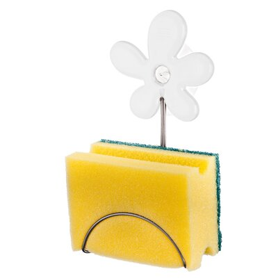 April Sponge Holder Color: Solid White