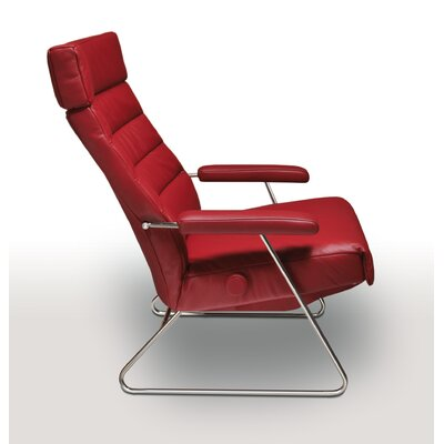 Adele Recliner Upholstery: Cherry Red