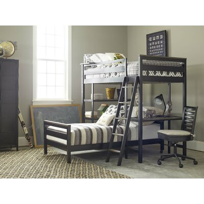 Chassidy Twin L-Shaped Bunk Bed