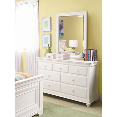 No credit financing Classics 7 Drawer Dresser Finish: S...