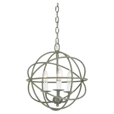 Globe 3-Light Globe Pendant