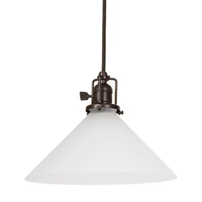Edgar Contemporary 1-Light Mini Pendant Finish: Oil Rubbed Bronze
