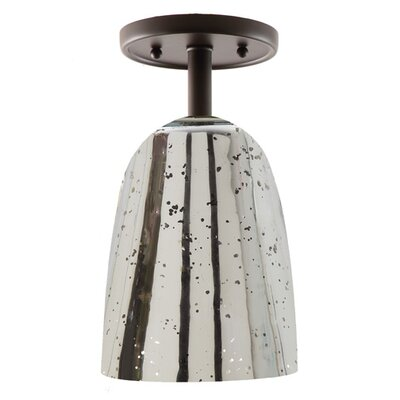 Grand Central 1-Light Semi Flush Mount Finish: Oil Rubbed Bronze