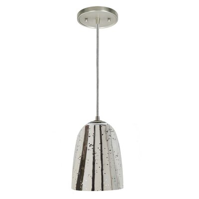 Grand Central 1-Light Mini Pendant Finish: Pewter