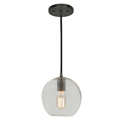Grand Central 1-Light Mini Pendant Finish: Oil Rubbed Bronze