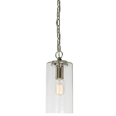 Jupiter 1-Light Mini Pendant Finish: Oil Rubbed Bronze