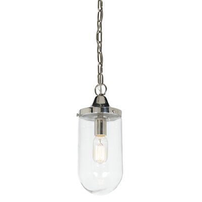 Boston 1 Light Mini Pendant Finish: Oil Rubbed Bronze