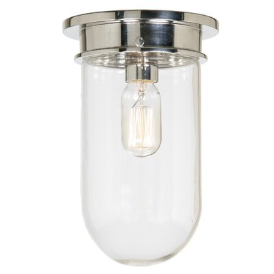 Boston 1-Light Mini Pendant Finish: Polished Nickel