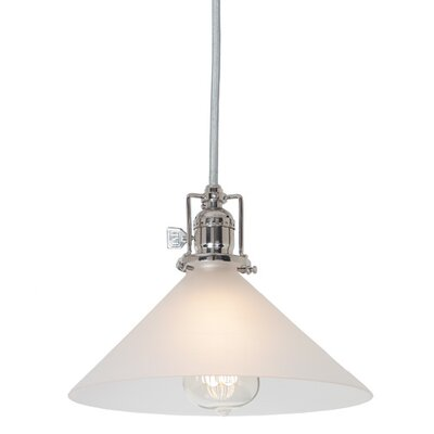 Edgar Contemporary 1-Light Mini Pendant Finish: Polished Nickel