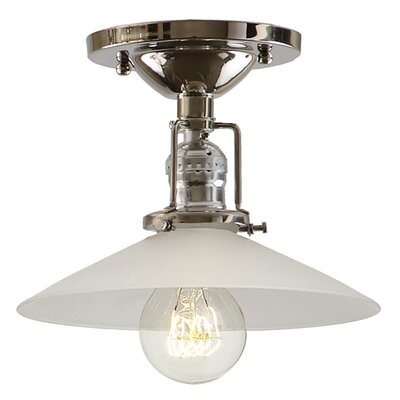 Union Square 1-Light Semi Flush Mount Finish: Polished Nickel