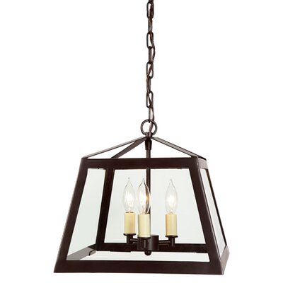 Troy 3-Light Pendant Size: Medium