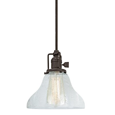 Edgar Bell Bubble 1-Light Mini Pendant Finish: Oil Rubbed Bronze