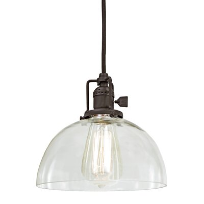 Edgar 1-Light Mini Pendant Finish: Oil Rubbed Bronze