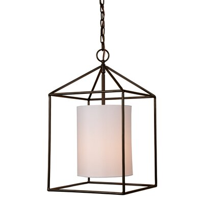 Baity 1-Light Foyer Pendent Finish: Oil Rubbed Bronze