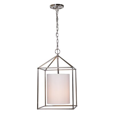 Baity 1-Light Foyer Pendent Finish: Polished Nickel
