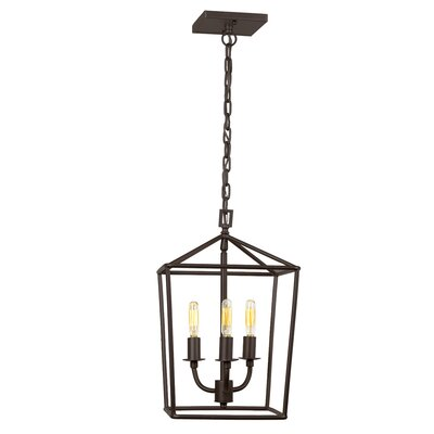 Cheung 3-Light Foyer Pendant Finish: Oil Rubbed Bronze