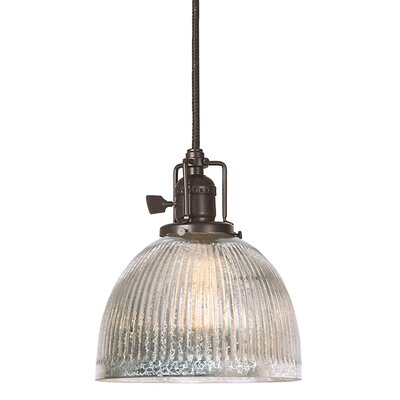 Edgar Mercury 1-Light Mini Pendant Finish: Oil Rubbed Bronze