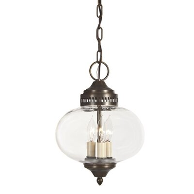 Classic Onions 3-Light Foyer Pendant Finish: Oil Rubbed Bronze