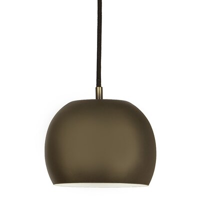 Bristol 1-Light Small Pendant Finish: Weathered Bronze