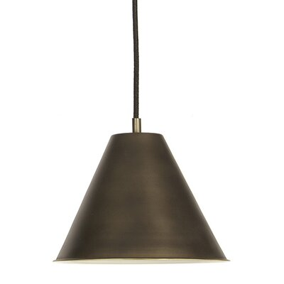 Catamount 1-Light Medium Pendant Finish: Weathered Bronze