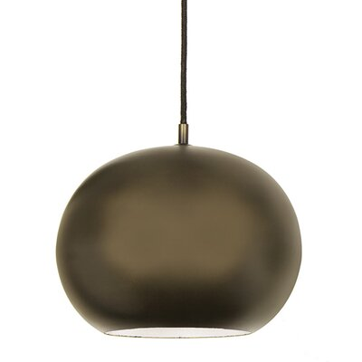 Bristol 1-Light Large Pendant Finish: Weathered Bronze