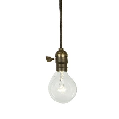 Edgar 1-Light Pendant Finish: Oil Rubbed Bronze