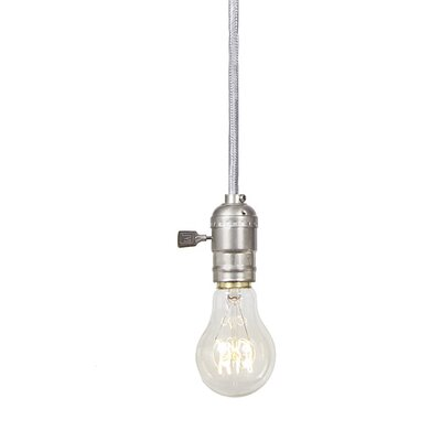 Edgar 1-Light Pendant Finish: Pewter