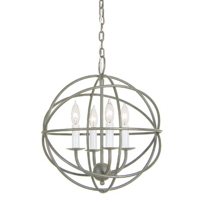 Globe 4-Light Globe Pendant
